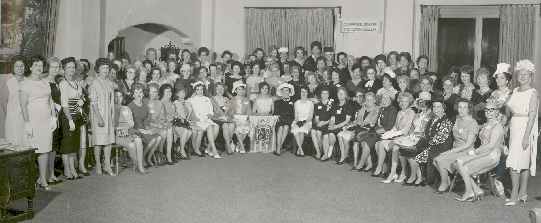 History 1964 ABWA-IE Tea